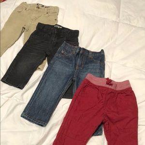 Baby Boy Pants Bundle - size 12 mo